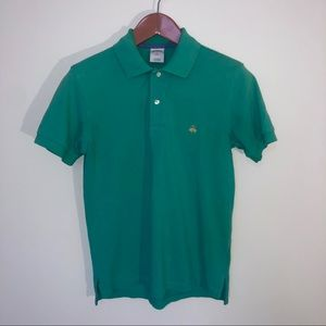 Brooks Brothers Small Polo Slim Fit Green